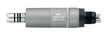 Mikrosilnik pneumatyczny z generatorem światła M205 LG firmy NSK