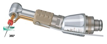 Kątnica MPA-F16R na mikrosilnik Endo-Mate TC2 firmy NSK