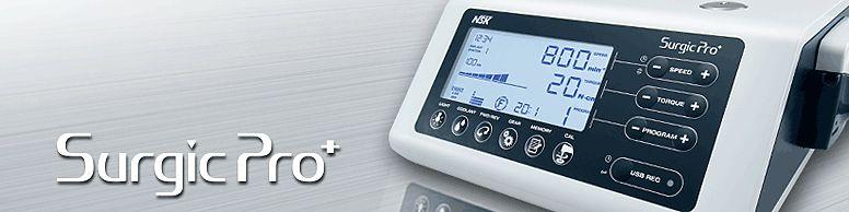 Urządzenie chirurgiczne Surgic PRO z podświetleniem firmy NSK